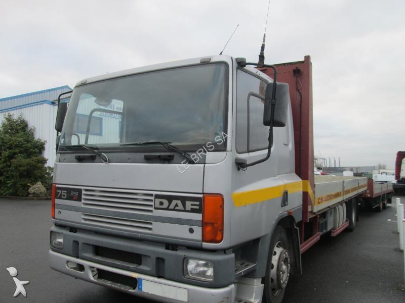 Ensemble routier DAF 75 ATI 240