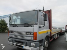used DAF flatbed tractor-trailer