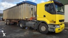 used Renault cereal tipper tractor-trailer