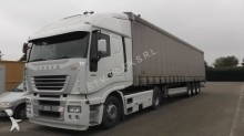 used Iveco tautliner tractor-trailer