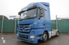 Mercedes heavy equipment transport tractor-trailer