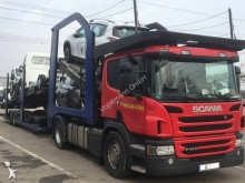 Scania car carrier tractor-trailer