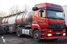 Mercedes food tanker tractor-trailer