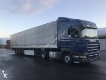 used dropside flatbed tractor-trailer