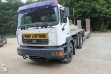 used MAN heavy equipment transport tractor-trailer