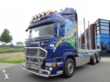 Scania R620 Wood Truck / 6X4 / V8 / Full Steel / Super tractor-trailer