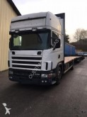 used Scania flatbed tractor-trailer