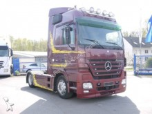 used Mercedes heavy equipment transport tractor-trailer