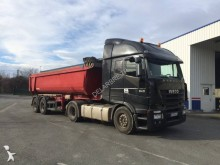 used construction dump tractor-trailer