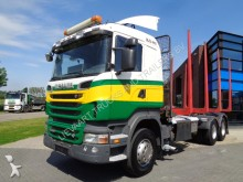 Scania R560 Woodtruck / 6x4 / Full steel tractor-trailer