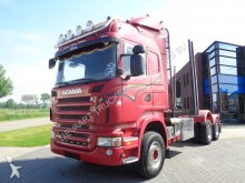 Scania R620 Highline / Woodtruck / Manual / 6x4 tractor-trailer