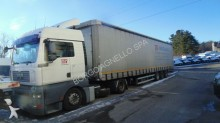 used MAN tautliner tractor-trailer