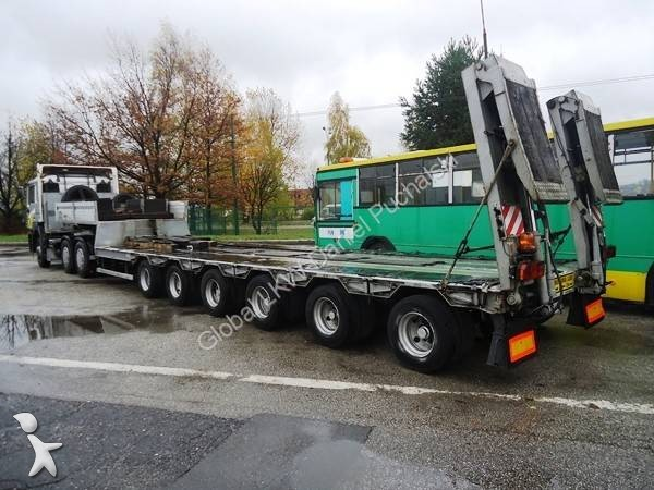 Used Tractor Trailers : Used man flatbed tractor trailer euro n°