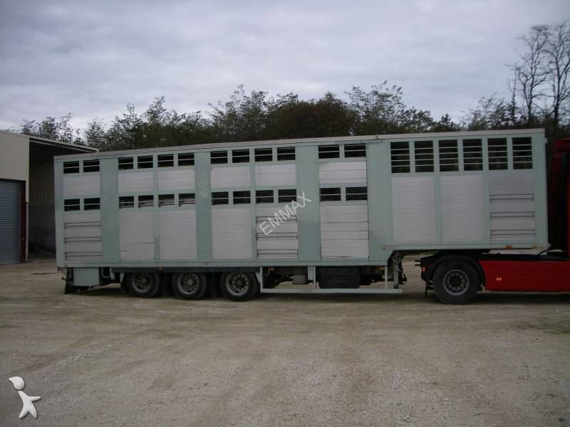 Used Tractor Trailers : Used volvo fh cattle tractor trailer n°