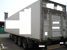 used Leciñena plywood box semi-trailer