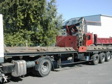 Trailor coil carrier flatbed semi-trailer