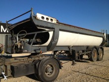 used Pomiers half-pipe semi-trailer