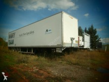 used Trouillet plywood box semi-trailer