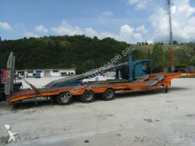 used Bertoja heavy equipment transport semi-trailer