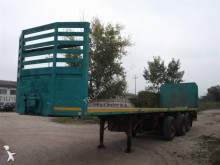 used Cardi flatbed semi-trailer