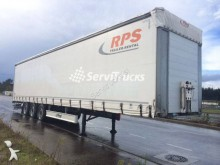 used Fliegl tarp semi-trailer