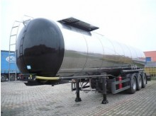 Metal Vuraic oil/fuel tanker semi-trailer