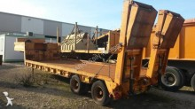 used Titan heavy equipment transport semi-trailer