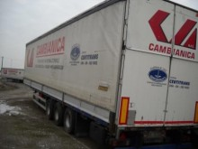 used Rinaldo tautliner semi-trailer