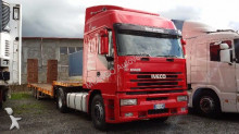 used Iveco heavy equipment transport semi-trailer