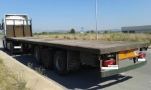 used Trayl-ona chassis semi-trailer