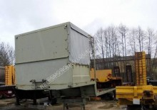 used Louault flatbed semi-trailer