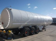 Gas Natural gas tanker semi-trailer