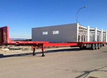 used Leciñena container semi-trailer
