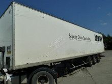 used Samro plywood box semi-trailer