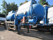 used Samro oil/fuel tanker semi-trailer