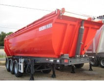 new BFG tipper semi-trailer