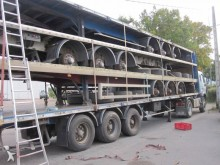 used Fruehauf beverage delivery flatbed semi-trailer