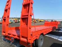 used Cazaubon heavy equipment transport semi-trailer