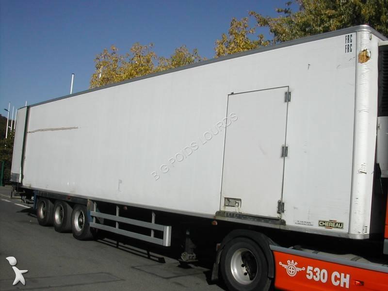 semi remorque chereau frigo carrier multi temp rature 3 essieux occasion n 1445586. Black Bedroom Furniture Sets. Home Design Ideas