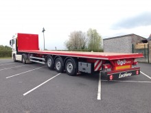 Leciñena SRG 3ED Neuf, plateau charges ponctuelles, poche à piquets semi-trailer