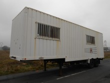 Samro MOBILE HOME BUREAU DE CHANTIER semi-trailer