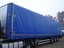 used Merker sliding tarp system tarp semi-trailer