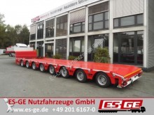 semirremolque ES-GE 8-Achs-Satteltieflader in Niedrigbauweise