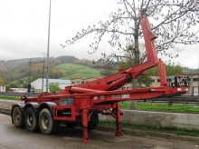 used Montenegro container semi-trailer