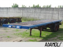 used Calabrese heavy equipment transport semi-trailer