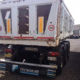 used TecnoKar Trailers tipper semi-trailer