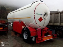 used Indox gas tanker semi-trailer