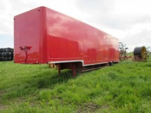 used Samro moving box semi-trailer