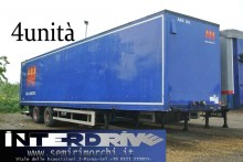 used Van Hool plywood box semi-trailer