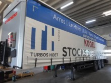 new Kögel tautliner semi-trailer